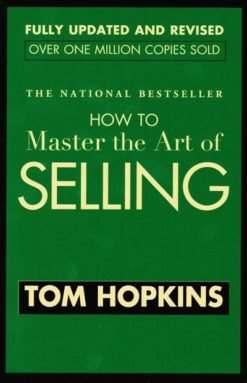 Cover, Tom Hopkins How To Master the Art of Selling