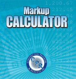 Markup Calculator Software Front Cover