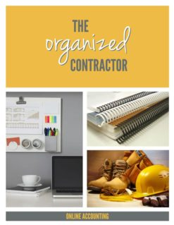 Organized Contractor Cover