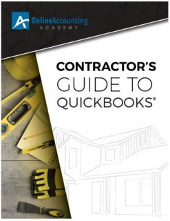 QuickBooks for Contractors 2019