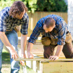 Subcontractors on Job
